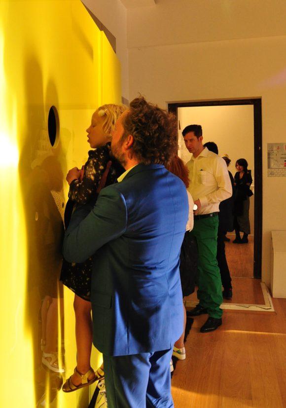 Installation von sehw architektur auf der Biennale 2016 in Venedig.