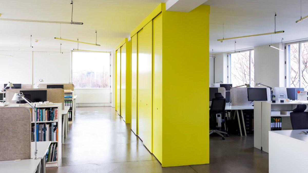 Eingangsbereich vom Büro von sehw architektur.