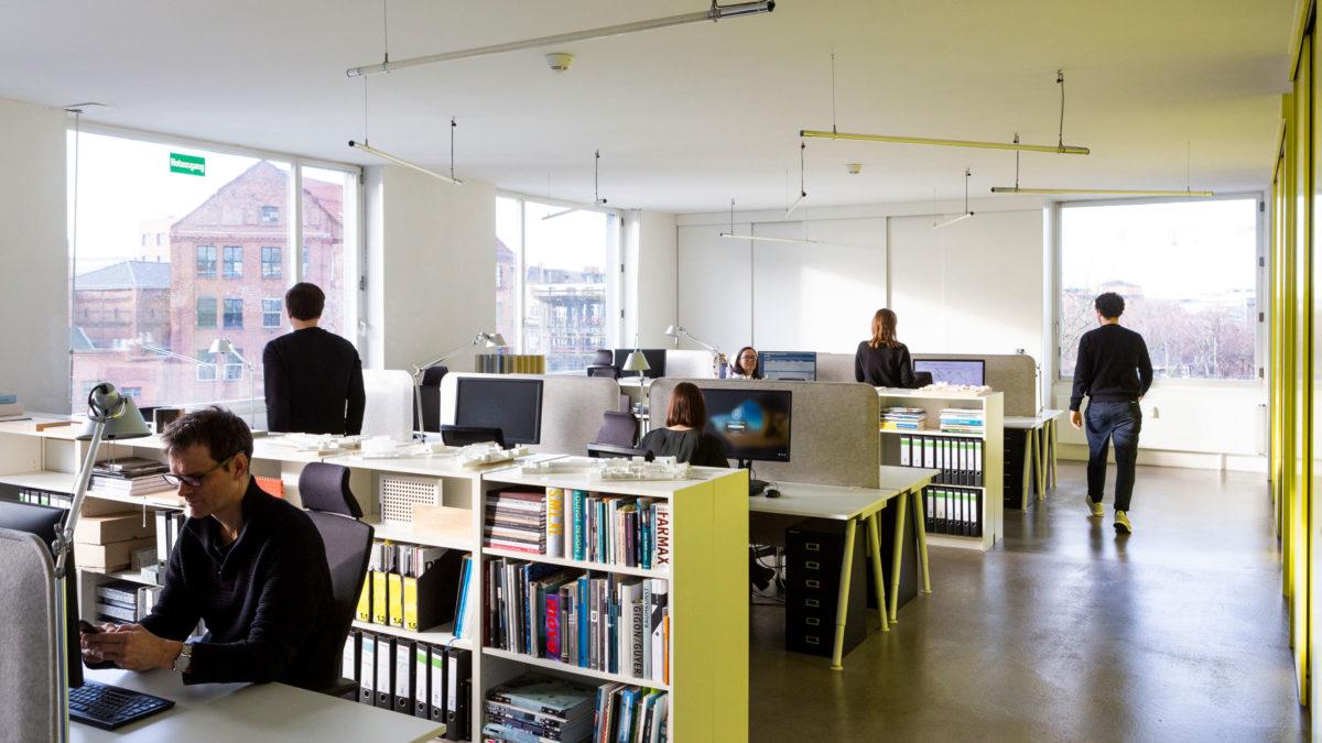 Büroräumlichkeiten von sehw architektur in Berlin.