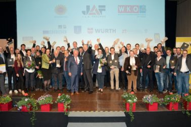 Preisverleihung des Niederösterreichischen Holzbaupreises 2019.