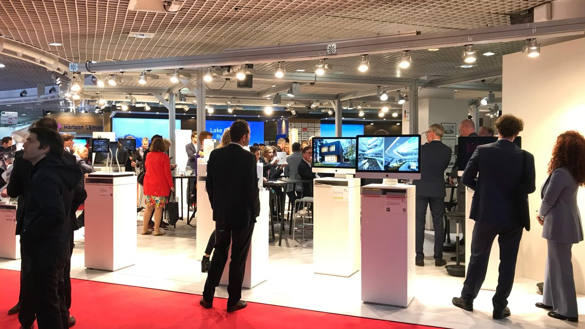 sehw architektur auf der MIPIM 2019 in Cannes.