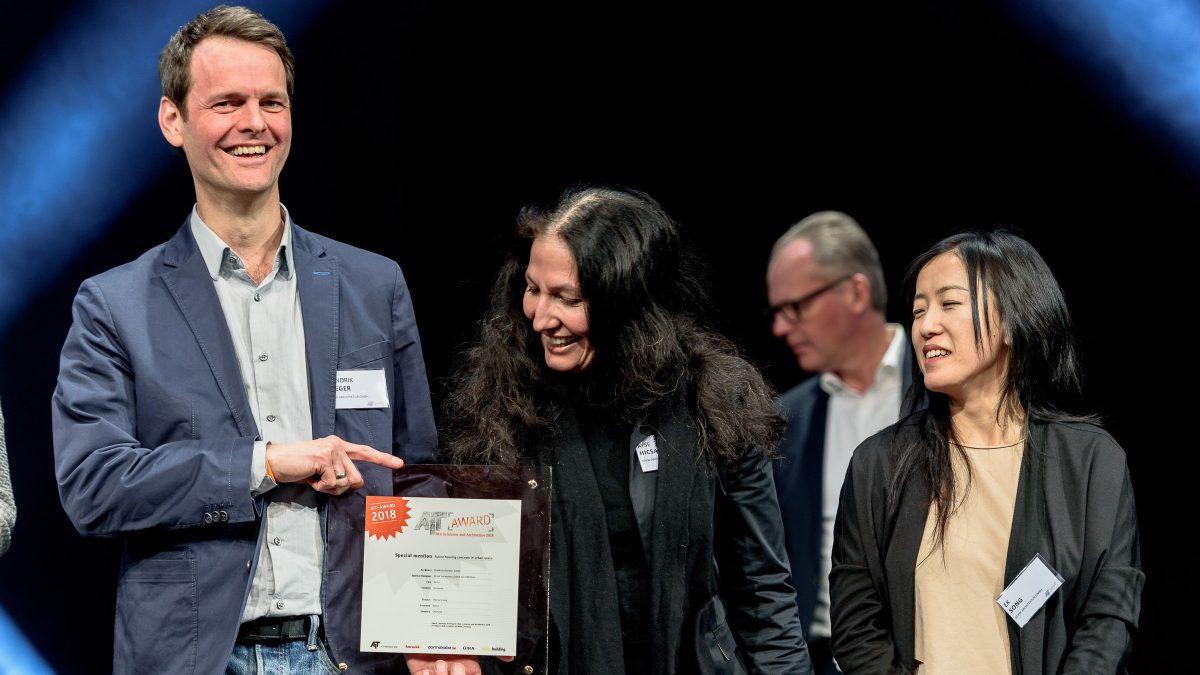 Hendrik Rieger bei der Preisverleihung des AIT Awards 2019.
