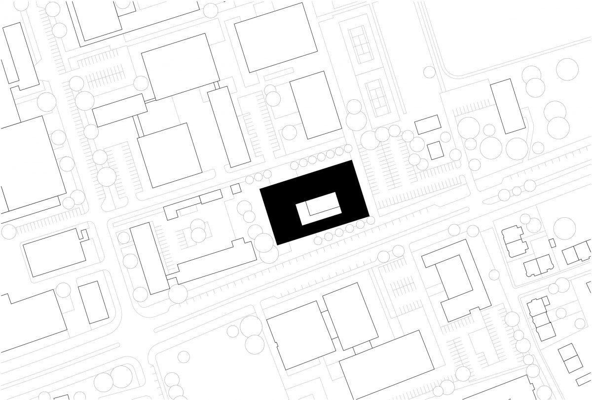 Lageplan des Instituts der Physik in Braunschweig.