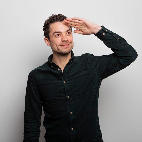 Vincent Sadr, Projektarchitekt bei sehw architektur.