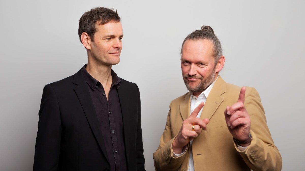 Die Geschäftsführer von SEHW Architektur, Xaver Egger und Hendrik Rieger.