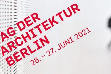Logo des Tags der Architektur Berlin 2021.
