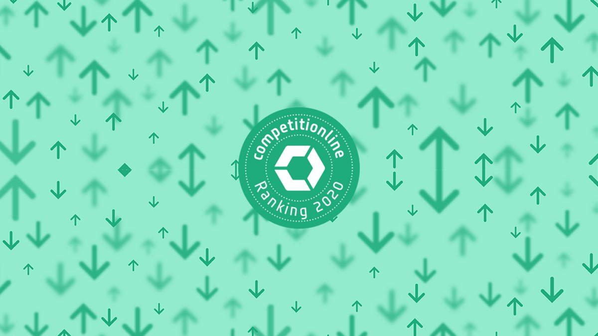 Logo vom Competitionline Ranking 2020.