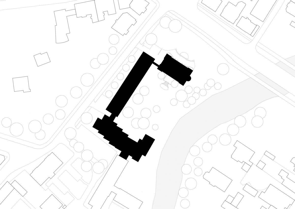 Lageplan des Georg-Eckert-Instituts in Braunschweig.