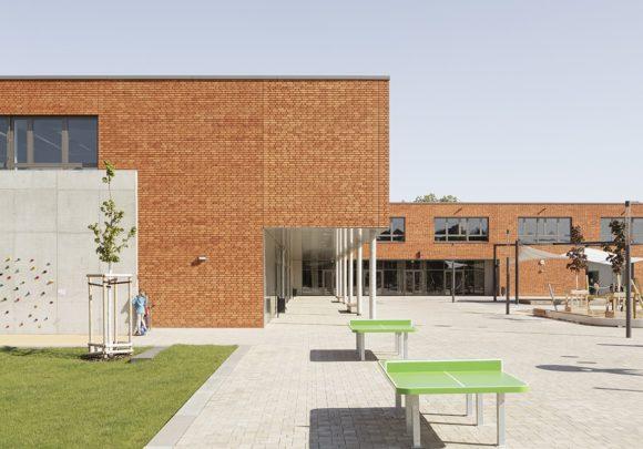 Schulgarten der Grundschule am Jungfernsee, Potsam.
