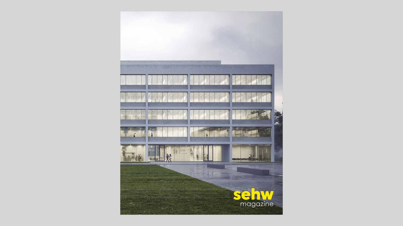 Cover des sehw architektur Magazins 2020.