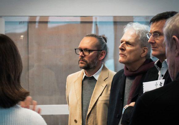 Der Geschäftsführer von Sehw Architektur Xaver Egger als Jurymitglied des Architecture for Health Awards.