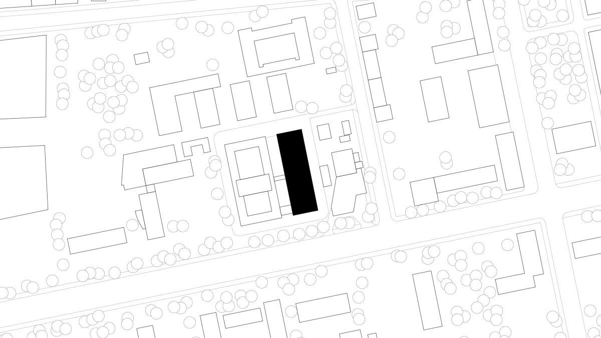 Lageplan des Fraunhofer Institut für sichere Informationstechnologie SIT in Darmstadt.