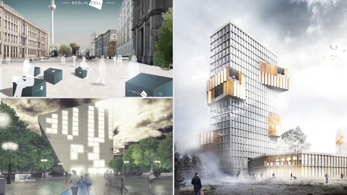 Studentenarbeiten des Masterstudiengangs Architektur:Projektentwicklung der Hochschule Bochum Kooperation mit dem Max-Delbrück-Centrums für Molekulare Medizin.