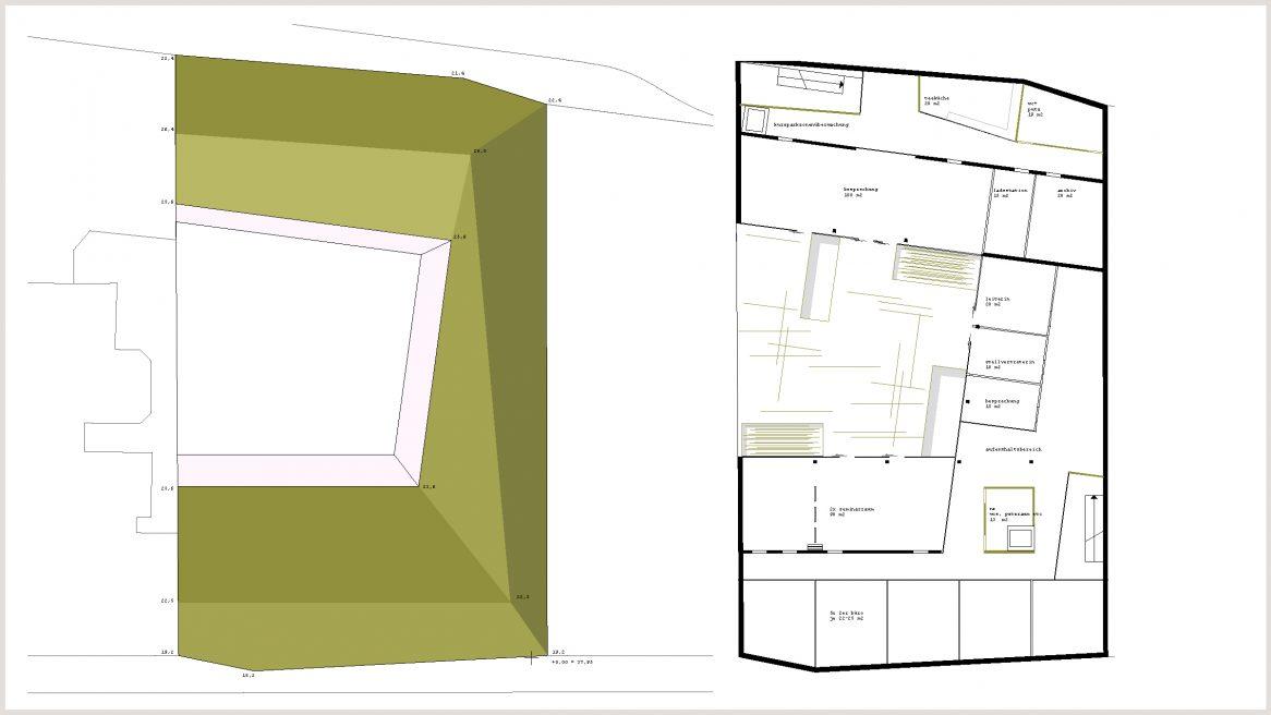 Lageplan und Grundriss des Projekts Wien Rettungsstelle.