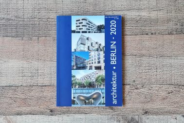 Cover des Magazins Architektur Berlin 2020.